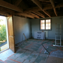 The Studio being built 2011