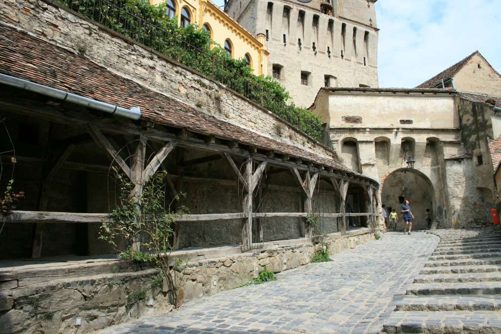 Sighisoara Romania Citadel Town