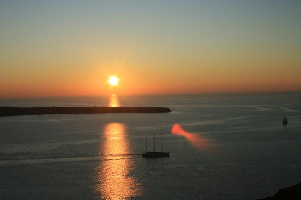 Greece Santorini Oia Sunset