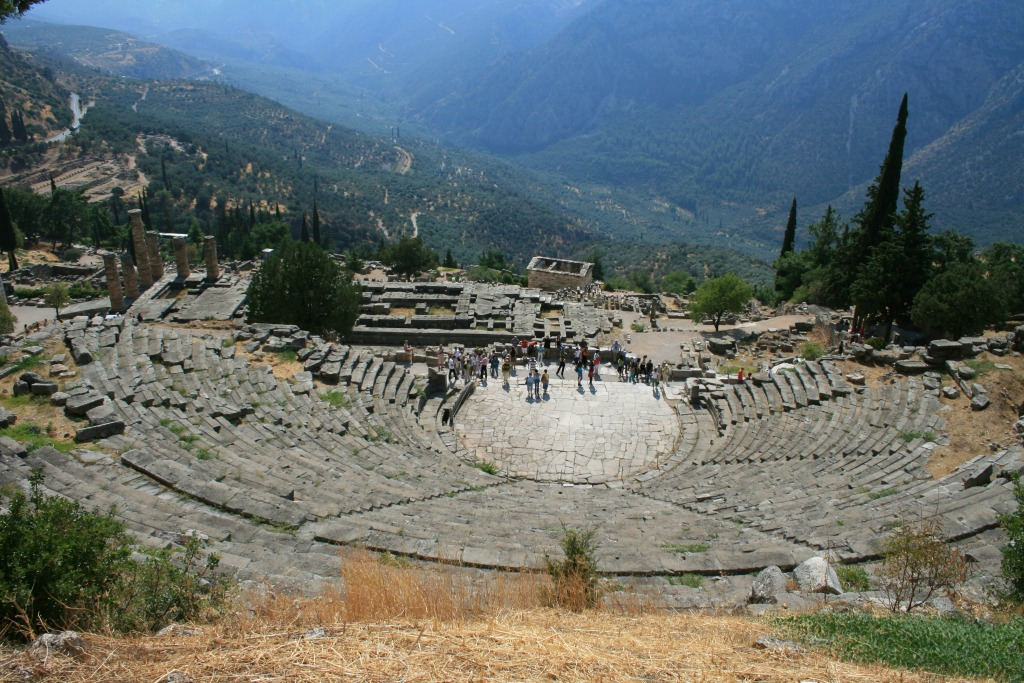 Greece Delphi.